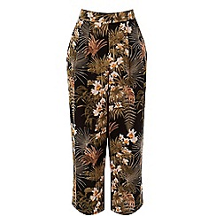 Warehouse - Tropical palm culotte