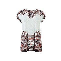 Warehouse - Paisley printed top