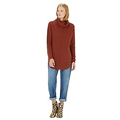 Warehouse - Rib curve hem jumper