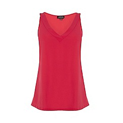 Warehouse - V neck satin front vest