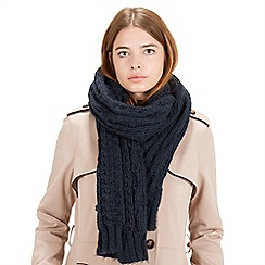 Warehouse - Cable knit scarf
