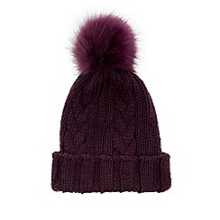 Warehouse - Cable knitt hat