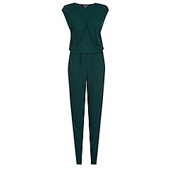 Warehouse - Wrap front jumpsuit