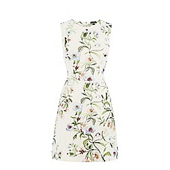 Warehouse - Blossom floral scuba dress