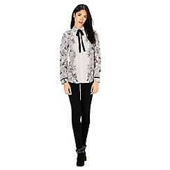 Warehouse - Mono print blouse