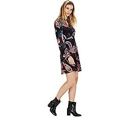 Warehouse - Paisley babydoll dress