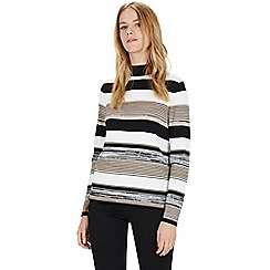 Warehouse - Stripe spacedye jumper