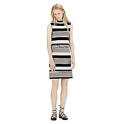Warehouse - Stripe spacedye dress