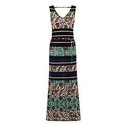 Warehouse - Folk utility maxi dress