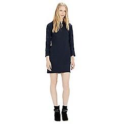 Warehouse - Lace sleeve shift dress
