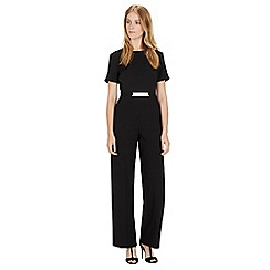 Warehouse - Belted detail jumpsuit
