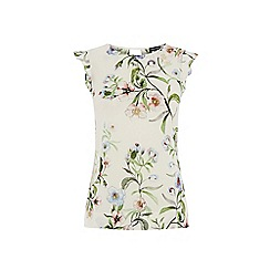 Warehouse - Blossom floral shell top