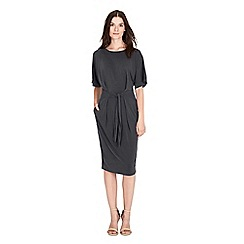 Warehouse - Premium belted tee-shirt dress