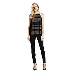 Warehouse - Textured stripe cami