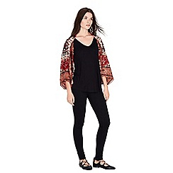 Warehouse - Persian woven cover-up