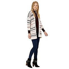 Warehouse - Fairisle cardi