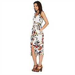Warehouse - Summer floral midi dress