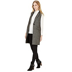 Warehouse - Herringbone tweed waistcoat