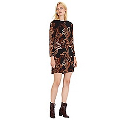 Warehouse - Paisley shift dress
