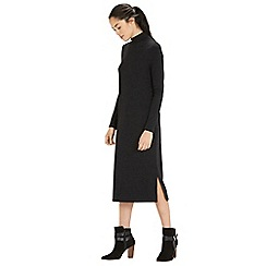 Warehouse - Turtle neck column midi dress