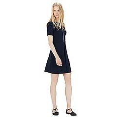 Warehouse - Zip through pocket dress