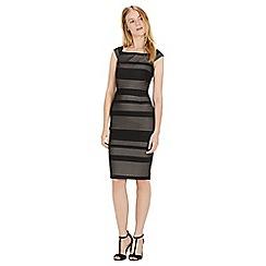 Warehouse - Bardot lace dress