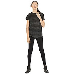 Warehouse - Sparkle wrap back tee