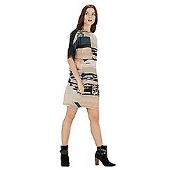 Warehouse - Landscape print dress