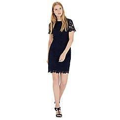 Warehouse - All over lace dress