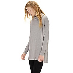 Warehouse - Relaxed side split polo tunic