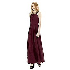 Warehouse - Int strap back maxi dress