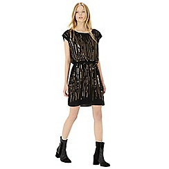 Warehouse - Bead and sequin scatter dress