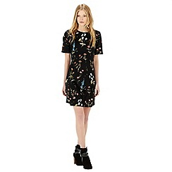 Warehouse - Pretty spaced floral dress