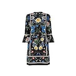 Warehouse - Botanical floral shift dress