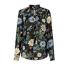 Warehouse - Botanical print blouse