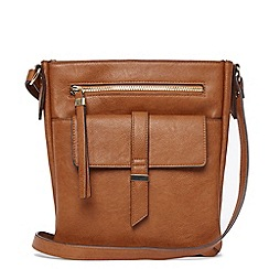 Warehouse - Tab pocket crossbody bag