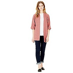 Warehouse - Rib & stitch cardi