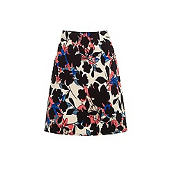Warehouse - Floral print skirt