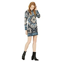 Warehouse - Tapestry shift dress