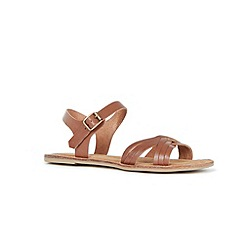 Warehouse - Criss Cross Flat Sandal