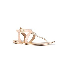 Warehouse - Ankle Strap Toe Post Sandal