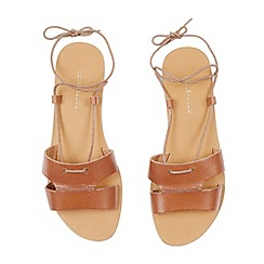 Warehouse - Lace up flat sandal