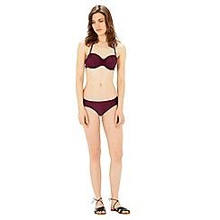 Warehouse - Ruched bikini bottom