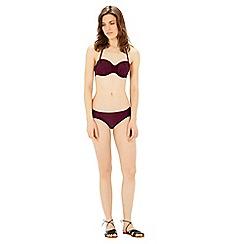 Warehouse - Ruched bikini top