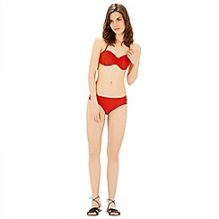 Warehouse - Ruched bikini top