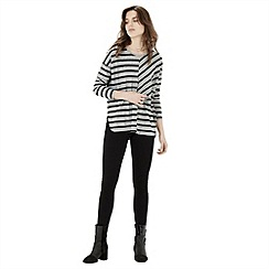 Warehouse - Cutabout stripe top