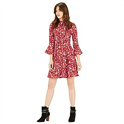 Warehouse - Floral babydoll dress