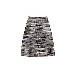 Warehouse - Multi stripe tweed skirt