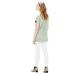 Warehouse - Nep boxy tee