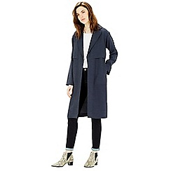 Warehouse - Linen duster coat